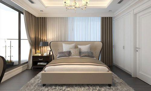 Các mẫu giường ngủ đẹp cho chung cư TSQ Mỗ Lao