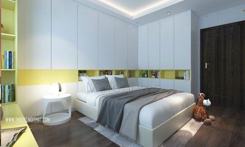 Tổng hợp mẫu giường ngủ đẹp cho chung cư Ngoại Giao Đoàn