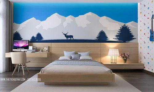 Các mẫu giường ngủ đẹp cho biệt thự Vinhomes Riverside The Harmony