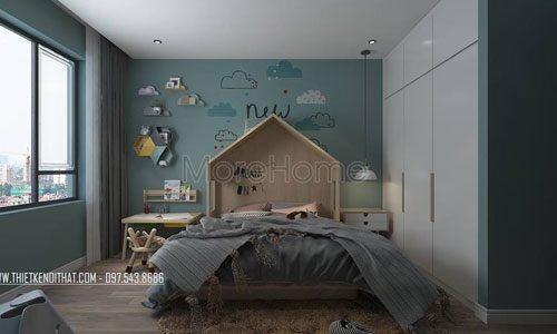 Nội thất phòng ngủ đẹp cho chung cư Goldmark City